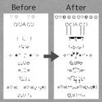 【LINE】顔文字の文字化けを修復するAndroidアプリ